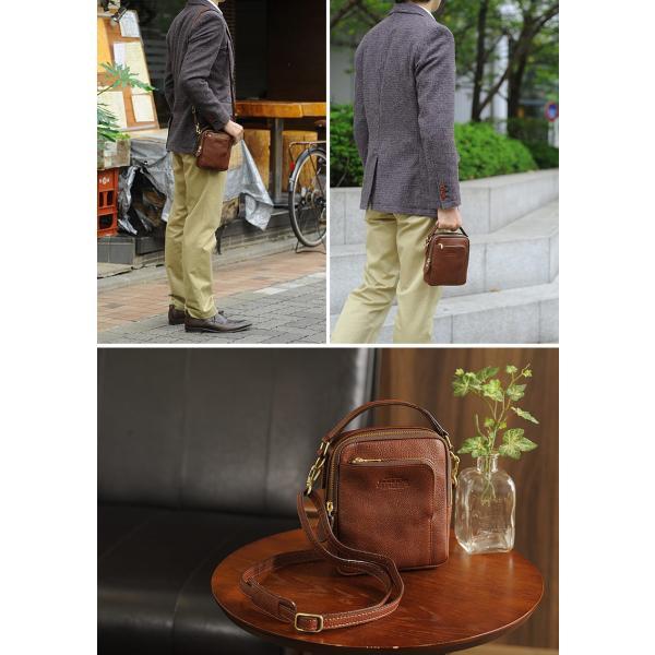 青木鞄 Lugard ショルダーポーチ メンズ ヌメ革 日本製 本革|t-style|06