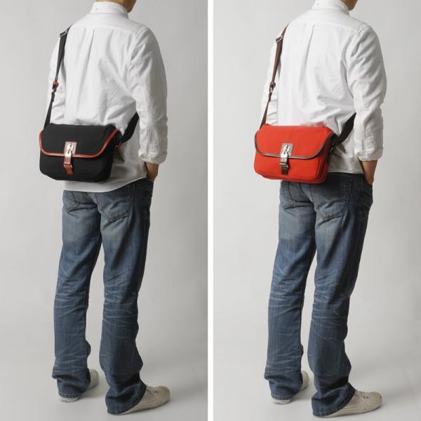 豊岡鞄 直帆布 ミニショルダーバッグ RED COLLECTION t-style 02