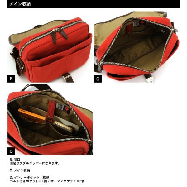 豊岡鞄 直帆布 ミニショルダーバッグ RED COLLECTION t-style 14