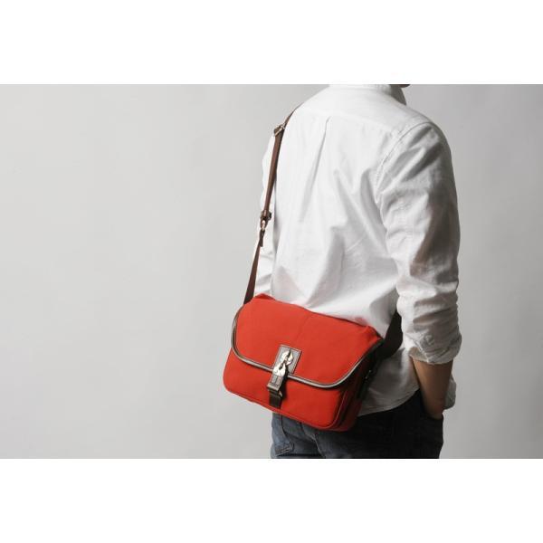 豊岡鞄 直帆布 ミニショルダーバッグ RED COLLECTION t-style 03