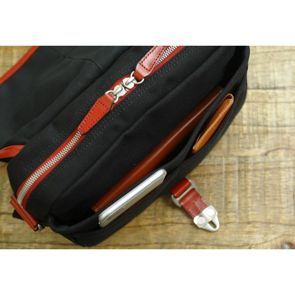 豊岡鞄 直帆布 ミニショルダーバッグ RED COLLECTION t-style 06