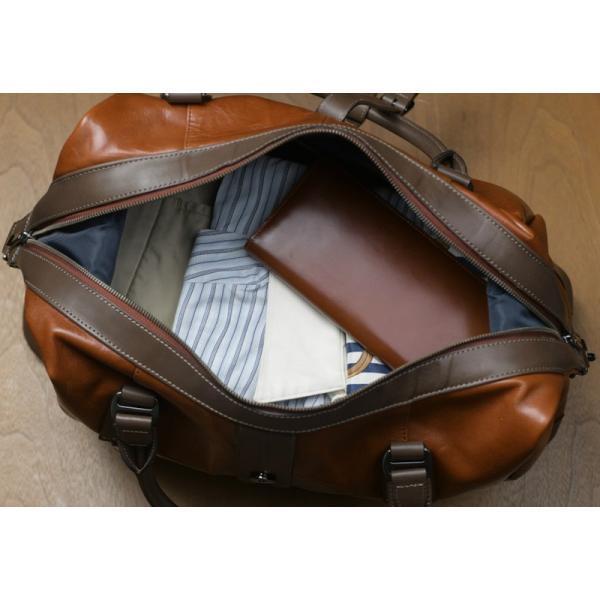 豊岡鞄 レザーボストンバッグ メンズ 日本製 本革 Ambition BK15-106 t-style 04