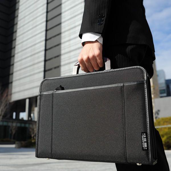 青木鞄 ソフトアタッシュケース A4 軽量 ビジネスバッグ 2way
