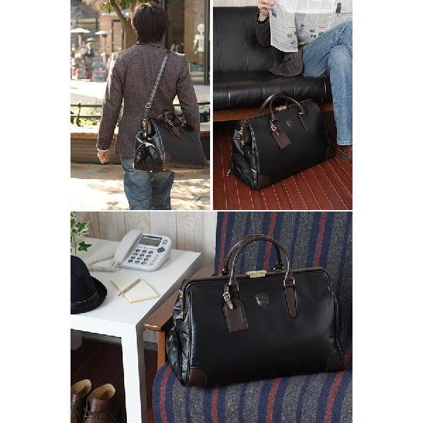 ダレスボストンバッグ メンズ 旅行 日本製 豊岡鞄 BLAZERCLUB|t-style|02