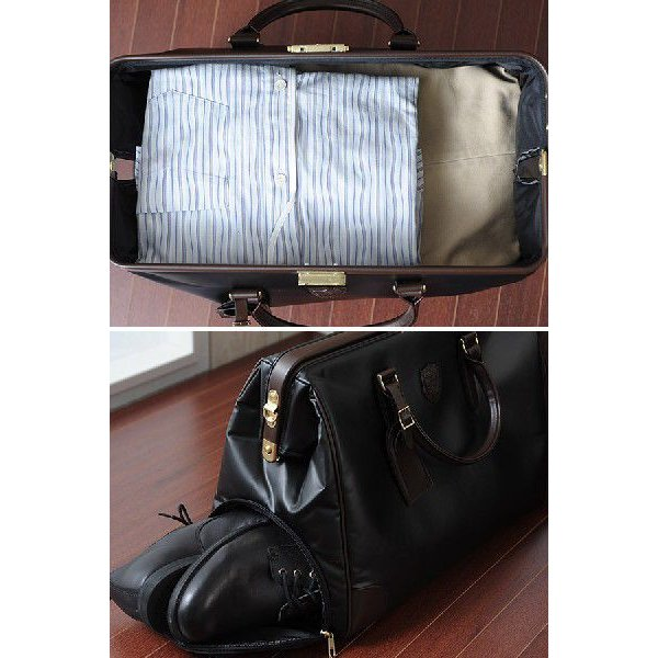 ダレスボストンバッグ メンズ 旅行 日本製 豊岡鞄 BLAZERCLUB|t-style|05