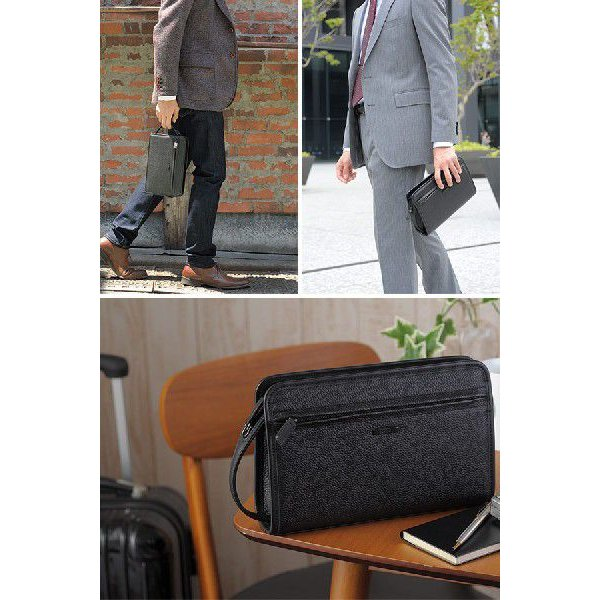 青木鞄 Lugard 本革セカンドバッグ メンズ 日本製 レザー フォーマル|t-style|02