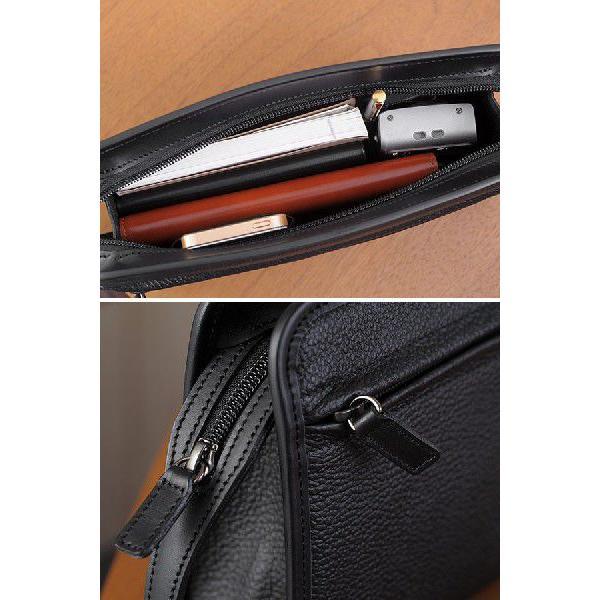 青木鞄 Lugard 本革セカンドバッグ メンズ 日本製 レザー フォーマル|t-style|05
