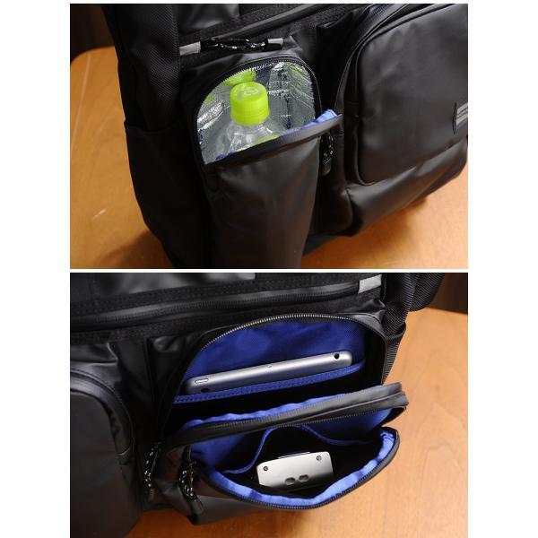NOMADIC ノーマディック 防水3wayビジネストートバッグ メンズ A4 ターポリン HM-02|t-style|04