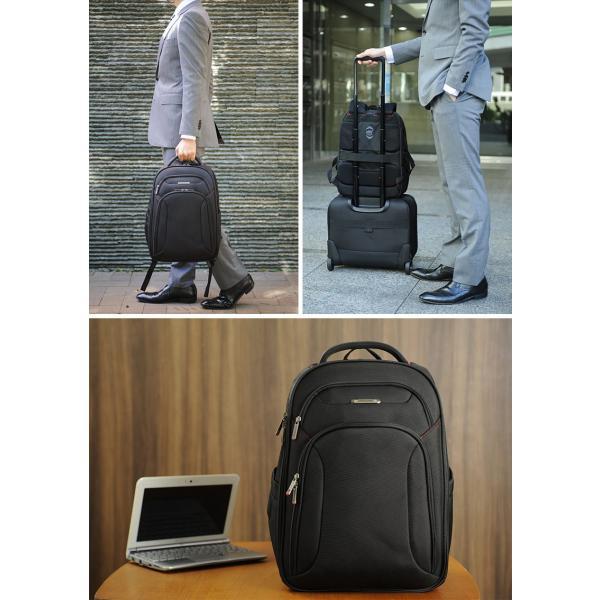 サムソナイト ビジネスリュック ラージ Samsonite XENON3 Large Backpack 89431-1041|t-style|03