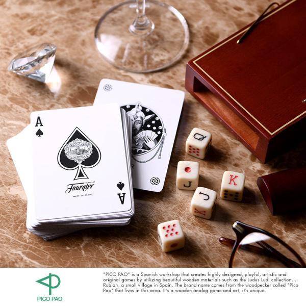 テーブルゲーム おしゃれ ゲーム 大人 海外 PICO PAO 新感覚 気軽に始める ポーカーセット ( トランプ ダイス )  カードゲーム 大人 子供