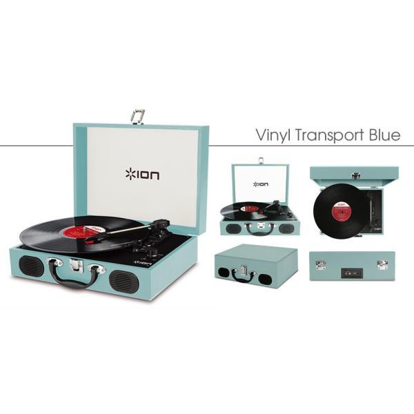 【ポータブルなトランク型レコードプレーヤー】ION Audio Vinyl Transport|t-tokyoroppongi|02