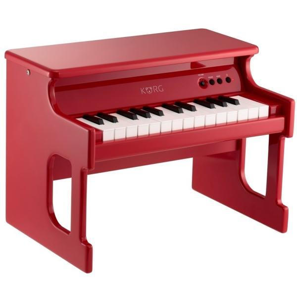 【お子さまへのプレゼントに/デジタルミニピアノ】KORG TINY PIANO(タイニーピアノ) ACアダプターセット/KORG(コルグ) 赤 黒   白|t-tokyoroppongi