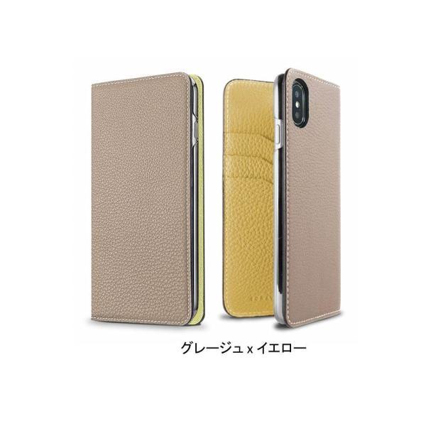 【 iPhone X/Xs サイズ 携帯ケース】BONAVENTURA ボナベンチュラ ツートンカラー t-tokyoroppongi 08