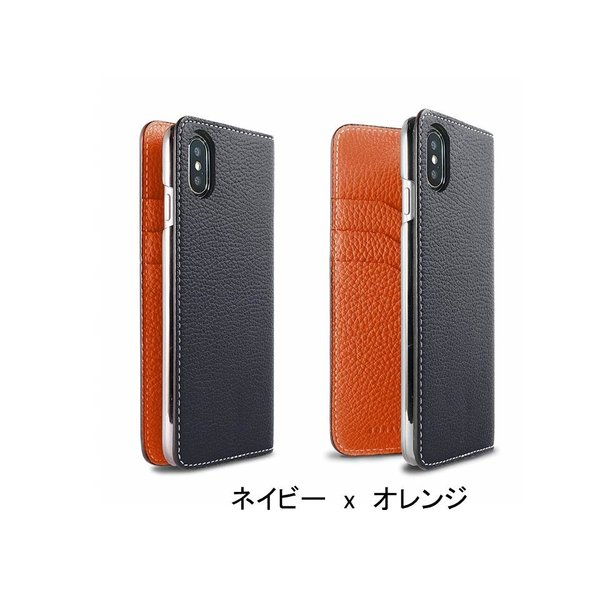 【 iPhone X/Xs サイズ 携帯ケース】BONAVENTURA ボナベンチュラ ツートンカラー t-tokyoroppongi 03