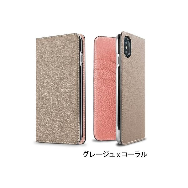 【 iPhone X/Xs サイズ 携帯ケース】BONAVENTURA ボナベンチュラ ツートンカラー t-tokyoroppongi 04