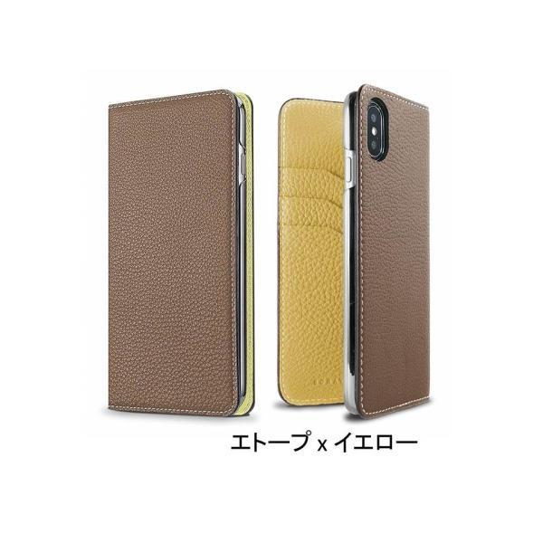 【 iPhone X/Xs サイズ 携帯ケース】BONAVENTURA ボナベンチュラ ツートンカラー t-tokyoroppongi 07
