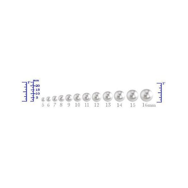 11-12mm ホワイト サウス シー Cultured パール ブレスレット in 14K ゴールド - AAAA クオリティー(海外取寄せ品)