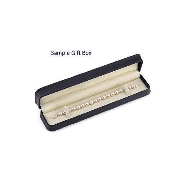 10-11mm Tahitian サウス シー Cultured パール ブレスレット in 14K ゴールド(海外取寄せ品)
