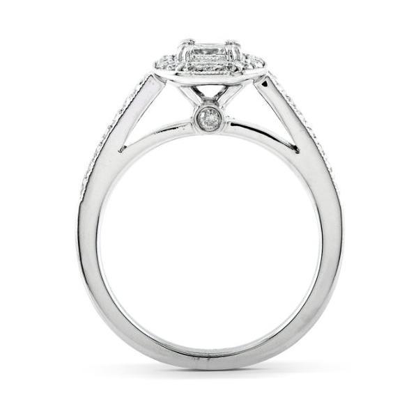 5/8 Carat TW Asscher ダイヤモンド Engagement リング and ウエディング バンド セット 14k (海外取寄せ品)