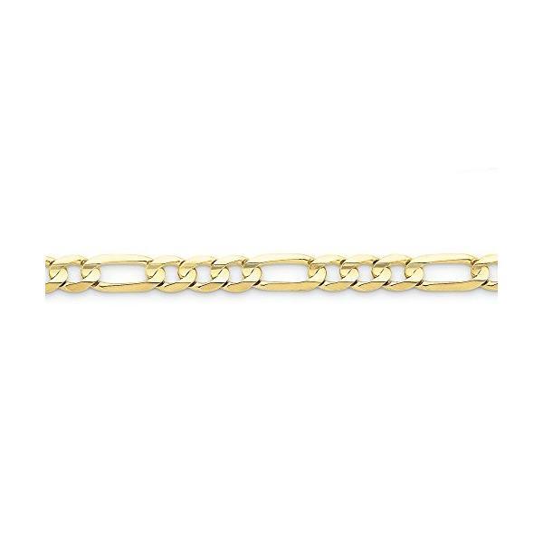 10k 4mm Light Figaro Chain