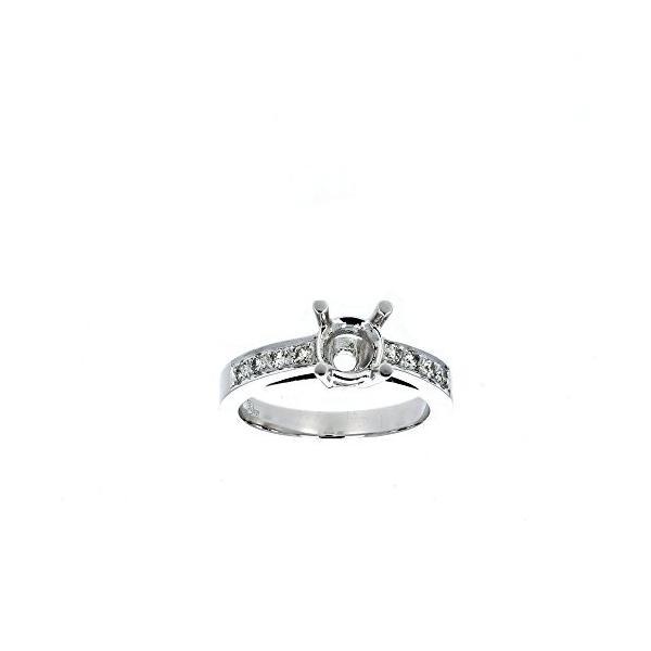 Engagement リング Setting, ダイヤモンド リング, 18Kt ホワイト ゴールド ダイヤモンド Engageme(海外取寄せ品)