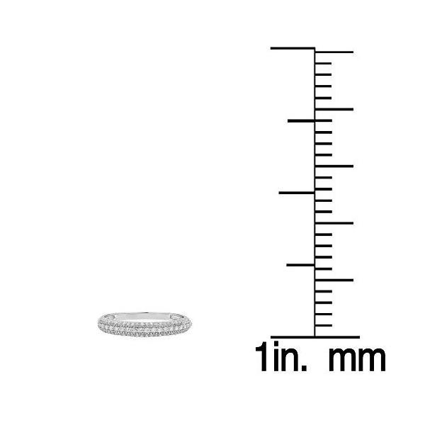0.35 Carat (ctw) 10K ホワイト ゴールド ラウンド ホワイト ダイヤモンド Bridal ウエディング Stac(海外取寄せ品)