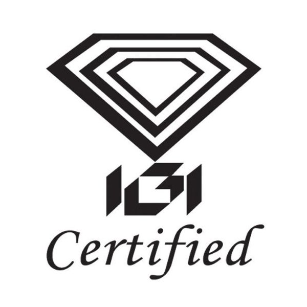 IGI Certified 3/5 Carat TW (0.61 Ct.) ラウンド ダイヤモンド 4-Prong スタッド Ear(海外取寄せ品)