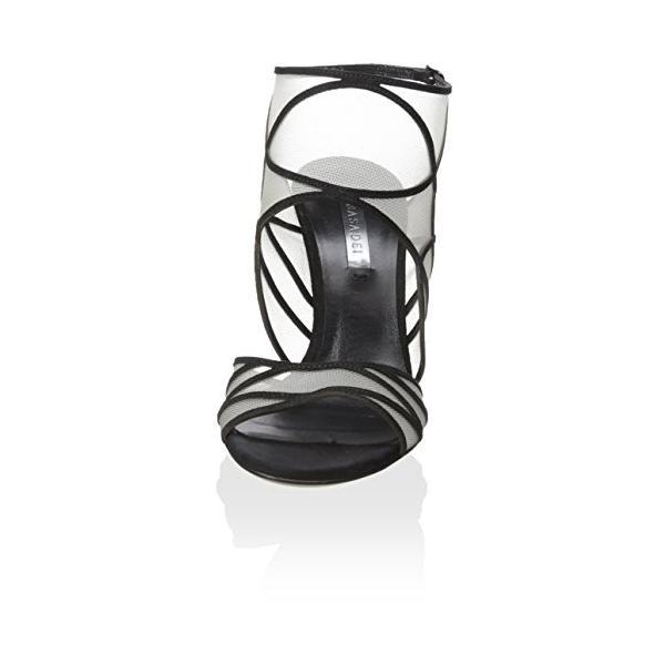 Casadei レディース ドレス Sandal, ブラック, 36 M EU/6 M US(海外取寄せ品)