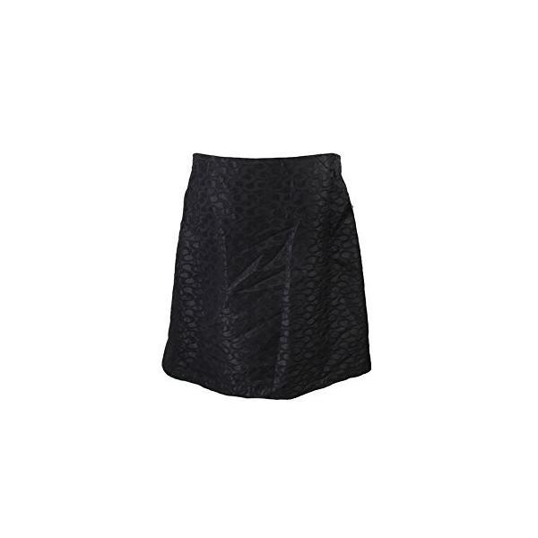 Studio M ブラック Jacquard ペンシル スカート(海外取寄せ品)