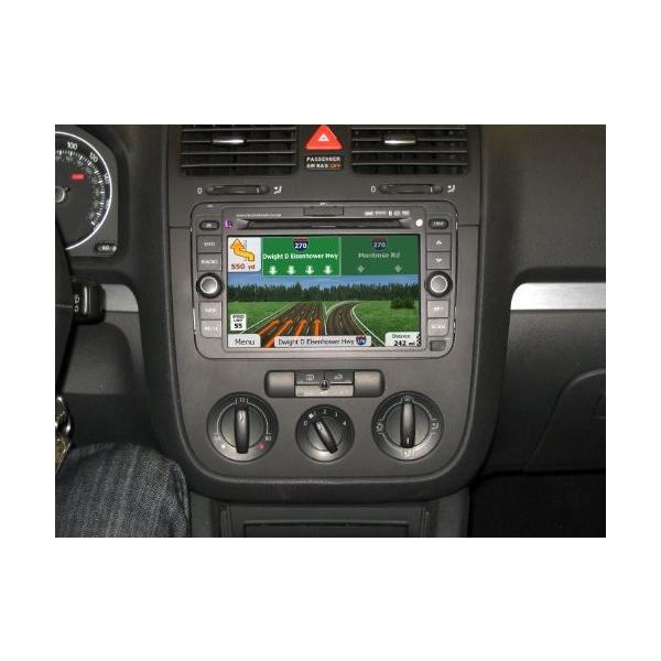 CarShow by Rosen CS-VW1110-P11 VW Series ファクトリー-ルック ナビゲーション AM/FM (海外取寄せ品)