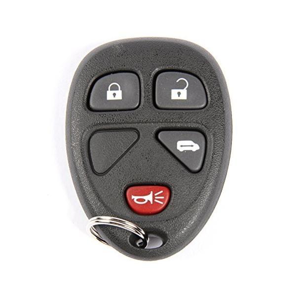 ACDelco 15100812 GM Original Equipment 4 Button Keyless Entry Remote Key Fob