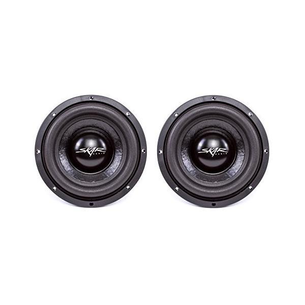 "(2) Skar Audio IX-8 D4 8"" 300W マックス Power デュアル 4 Subwoofer(海外取寄せ品)"