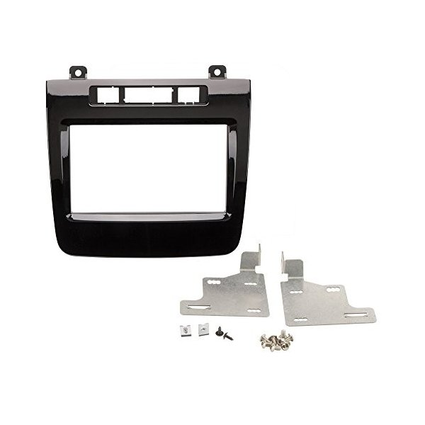 SCOSCHE VW2354DDB 2010-Up VW Touareg ISO Double DIN Dash キット(海外取寄せ品)