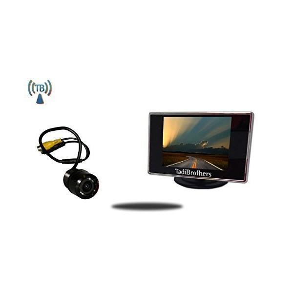 Tadibrothers 3.5 インチ モニター with Wireless 120 Degree Bumper バックアップ C(海外取寄せ品)