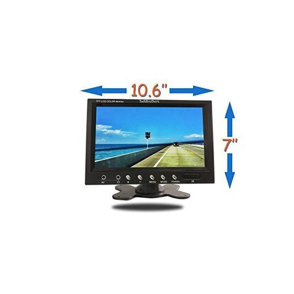 Tadibrothers 10.5 インチ Wireless アルティメイト CCD RV Trailer バックアップ Camer(海外取寄せ品)