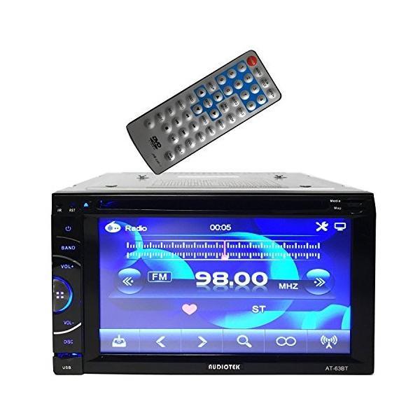 "Audiotek - AT-63BHDMI- 6.5"" Double-Din HDMI/AM/FM/MP3/MP4 Playable(海外取寄せ品)"