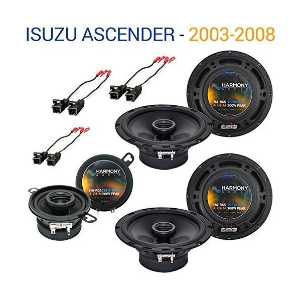 Isuzu Ascender 2003-2008 OEM スピーカー リプレイスメント Harmony (2) R65 R35 Pa(海外取寄せ品)