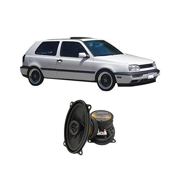 フィット Volkswagen GTI 1995-1998 Rear Panel ファクトリー リプレイスメント Harmony H(海外取寄せ品)