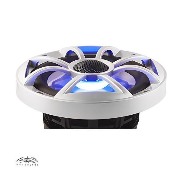 """Wet Sounds HT-2 Amp, Two ペア of XS-650-S-RGB LED 6.5"""" 100 ワット RMS ス(海外取寄せ品)"""