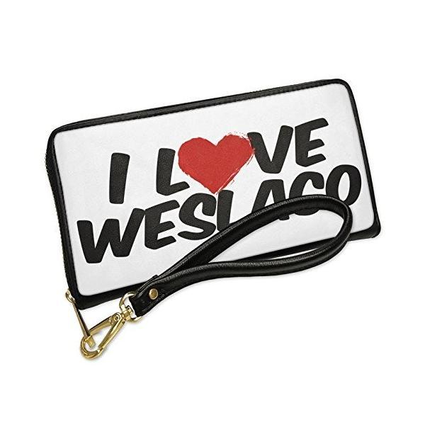 ウォレット Clutch I ラブ Weslaco with リムーバブル Wristlet ストラップ Neonblond(海外取寄せ品) t2mart