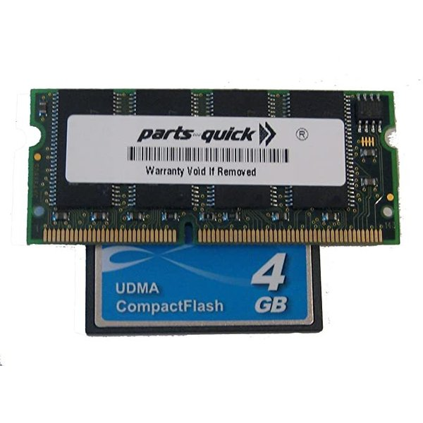 EXM128 128MB メモリ memory and 4GB Compact フラッシュ for Akai MPC2500 (PAR(海外取寄せ品)