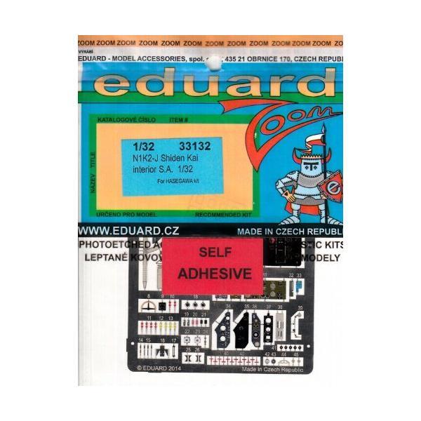 EDU33132 1:32 Eduard カラー Zoom PE -N1K2-J Shiden Kai Interior (for u(海外取寄せ品) t2mart