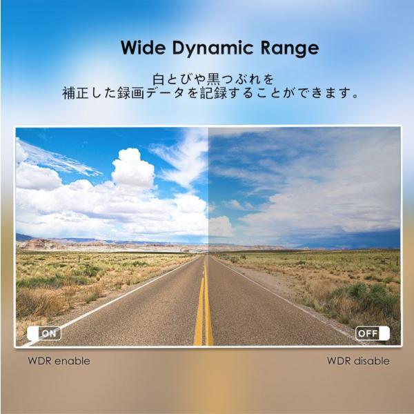 ドライブレコーダー 高画質2560x1600P+ IMX355 5MP SONYセンサー GPS 駐車監視 ノイズ対策済 信号灯対策済 WDR+暗視機能 カーカメラ140度広角 VIOFO A119V3|ta-creative|11