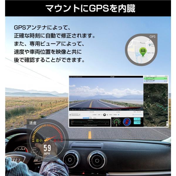 ドライブレコーダー 前後 4K 2カメラ 前後2カメラ SONYセンサー 夜間撮影に強い Wi-Fi搭載 GPS WDR Gセンサー 駐車監視 地デジノイズ対策済み VIOFO A129 PRO|ta-creative|13