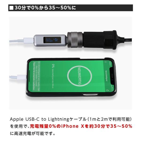 シガー ソケット USB カーチャージャー Wicked Chili(ウィケッド・チリ)by ドイツ 36W ターボID+USB C-PD機能搭載 デュアル ハイスピード|ta-creative|07