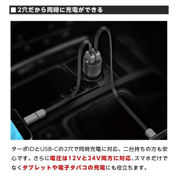 シガー ソケット USB カーチャージャー Wicked Chili(ウィケッド・チリ)by ドイツ 36W ターボID+USB C-PD機能搭載 デュアル ハイスピード|ta-creative|09