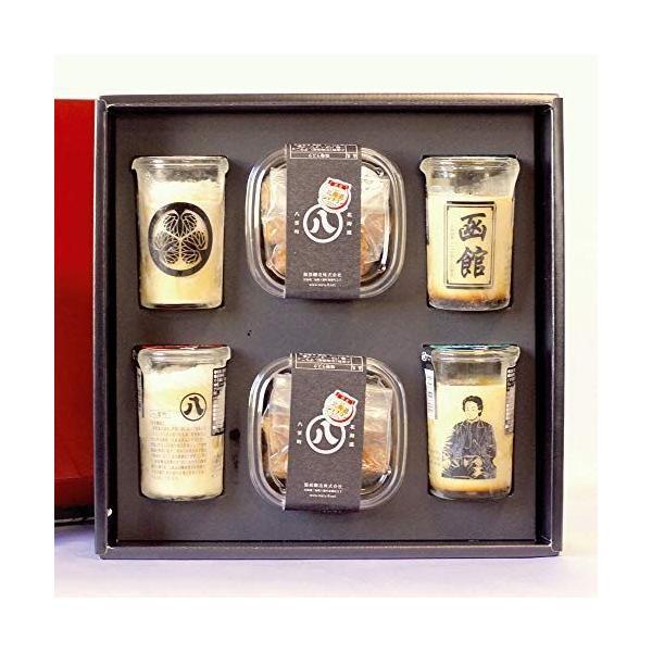 北海道スイーツプリンラスク詰め合せセット(6個入)味噌ラスク味噌プリンカスタードプリンご当地函館お菓子贈り物お土産