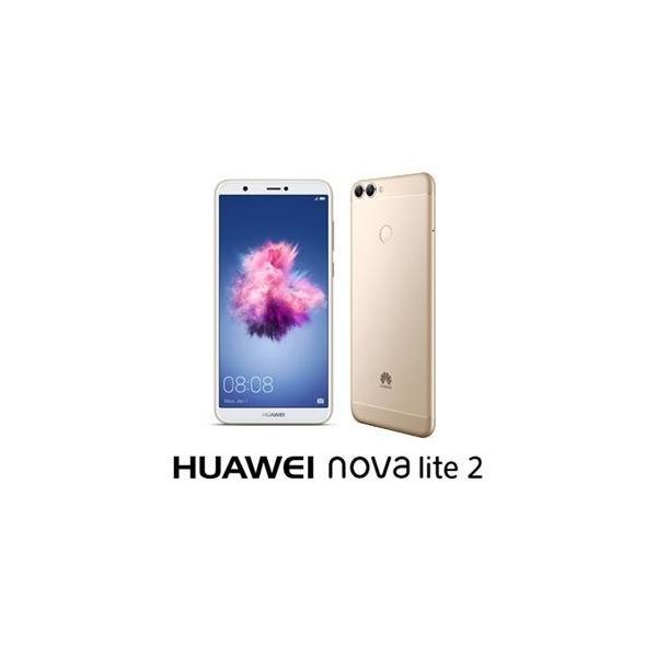 HUAWEI nova lite 2 32GB ゴールド 楽天モバイルの画像