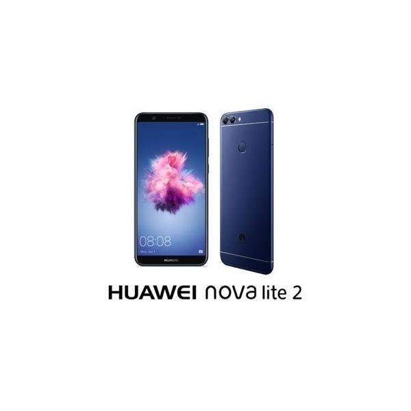 HUAWEI nova lite 2 32GB ブルー 楽天モバイルの画像