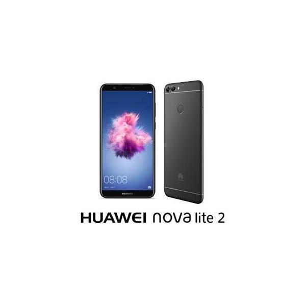 HUAWEI nova lite 2 32GB ブラック 楽天モバイルの画像